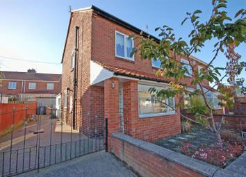 Thumbnail 3 bed semi-detached house for sale in Love Avenue, Dudley, Cramlington