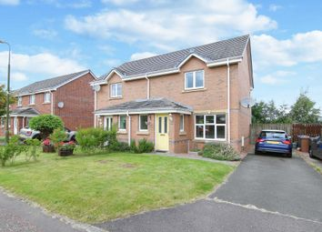 Thumbnail 2 bed semi-detached house for sale in Mallace Avenue, Armadale, Bathgate