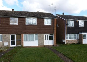 Thumbnail 3 bed semi-detached house for sale in Julius Gardens, Luton