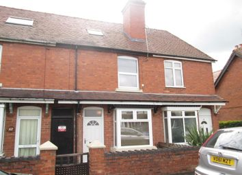 Thumbnail 3 bed terraced house to rent in Broad Street, Bromsgrove