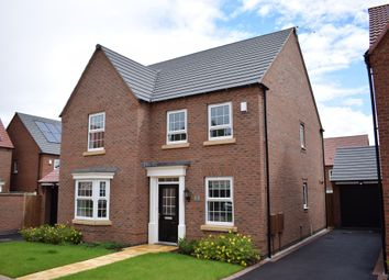 "Thumbnail 4 bedroom detached house for sale in ""Holden"" at Forest House Lane, Leicester Forest East, Leicester"