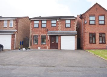 Thumbnail 4 bed detached house for sale in Swan Pool Grove, Walsall