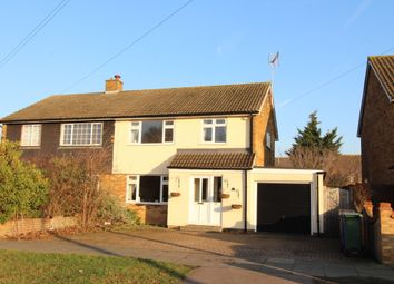 Thumbnail 3 bed semi-detached house for sale in Longhouse Road, Chadwell-St-Mary