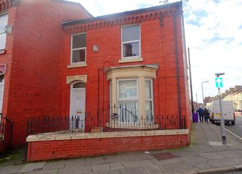 Thumbnail 4 bed end terrace house for sale in Walton Breck Road, Anfield, Liverpool