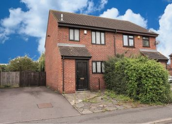 Thumbnail 3 bed semi-detached house to rent in Alverstoke Road, Romford