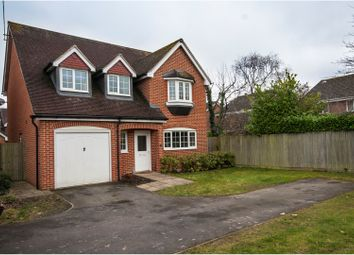 Thumbnail 4 bed detached house for sale in The Laurels, Woodley