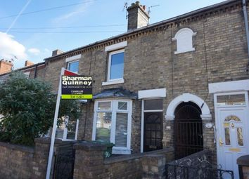 Thumbnail 3 bed terraced house for sale in New Road, Woodston, Peterborough