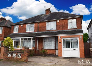 Thumbnail 3 bed semi-detached house to rent in Heyworth Road, Leicester