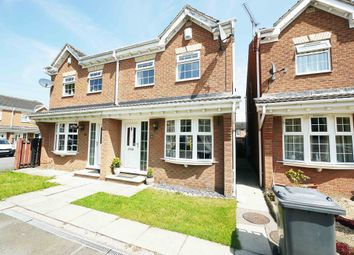 Thumbnail 3 bed semi-detached house for sale in 26, Burnleys View, Methley, Leeds, West Yorkshire