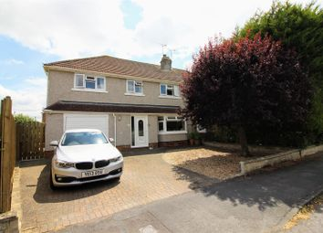 Thumbnail 4 bed semi-detached house for sale in Woodside Avenue, Old Walcot, Swindon