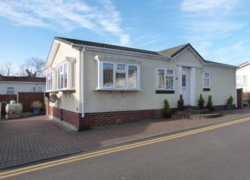 Thumbnail 2 bed mobile/park home for sale in The Aspens, Woodbine Park, Waltham Abbey