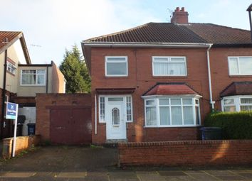 Thumbnail 3 bedroom semi-detached house for sale in Newminster Road, Fenham, Newcastle Upon Tyne