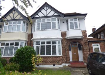 Thumbnail 4 bed semi-detached house to rent in Delamere Road, Ealing, London