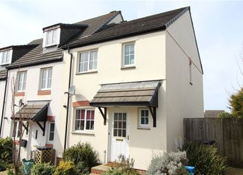 Thumbnail 3 bed end terrace house for sale in Cherry Tree Road, Axminster