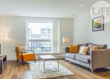 Thumbnail 2 bedroom flat to rent in Talisman Tower, 6 Lincoln Plaza, Canary Wharf, London