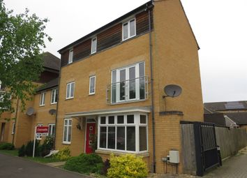 Thumbnail 4 bed semi-detached house for sale in Four Chimneys Crescent, Hampton Vale, Peterborough