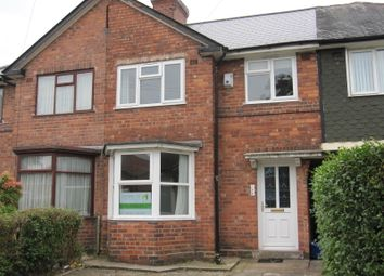 Thumbnail 3 bed terraced house to rent in Oakhurst Road, Acocks Green
