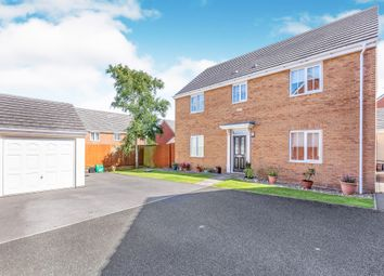 Thumbnail 4 bed detached house for sale in Heol Y Fronfraith Fawr, Laleston, Bridgend