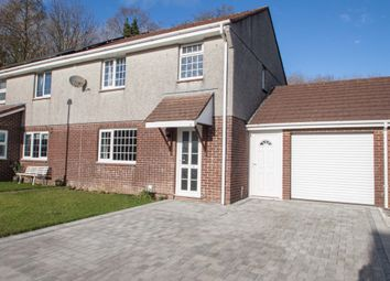 Thumbnail 3 bed semi-detached house for sale in Hazelwood Drive, Woolwell, Plymouth