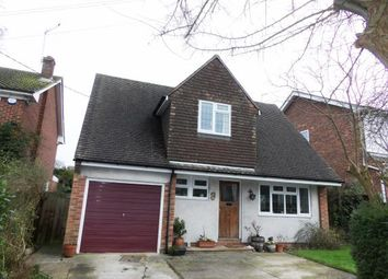 Thumbnail 3 bed detached house for sale in Burntwood Close, Billericay