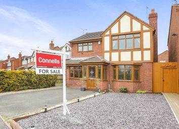 Thumbnail 4 bed detached house for sale in Campion Drive, Featherstone, Wolverhampton