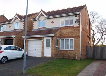 Thumbnail 3 bed detached house for sale in Silverdale Road, Cramlington