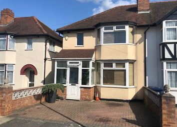 Thumbnail 4 bed semi-detached house to rent in Braund Avenue, Greenford