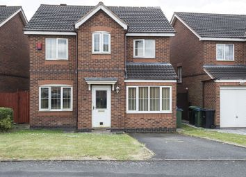 Thumbnail 4 bedroom detached house for sale in Eagle Lane, Tipton