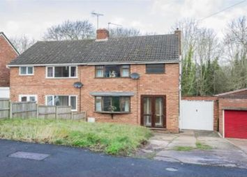 Thumbnail 3 bed semi-detached bungalow for sale in Harport Road, Redditch