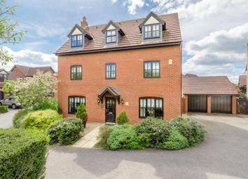 Thumbnail 5 bedroom detached house for sale in Upper Wood Close, Shenley Brook End, Milton Keynes