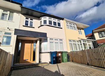 Thumbnail 3 bed property to rent in Raeburn Road, Edgware