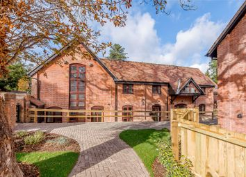 Thumbnail 2 bedroom terraced house for sale in The Barn, Palace Gate Farm, Odiham, Hook