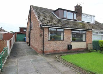 Thumbnail 3 bed semi-detached bungalow for sale in Alderley Lane, Leigh