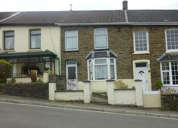 Thumbnail 2 bed terraced house to rent in Richard Street, Pontycymer, Bridgend