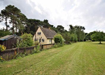 Thumbnail 3 bed detached house for sale in Weston Road, Weston Longville, Norwich