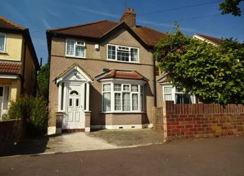 Thumbnail 3 bed semi-detached house for sale in West Way, Heston, Hounslow