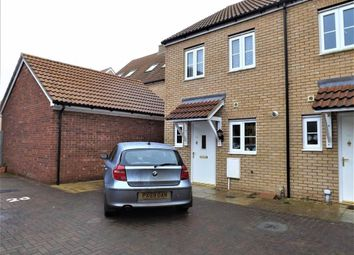 Thumbnail 2 bed terraced house for sale in Lawyers Close, Holbeach, Spalding
