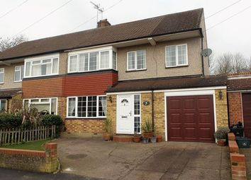 Thumbnail 5 bed semi-detached house for sale in Beehive Road, Goffs Oak, Waltham Cross