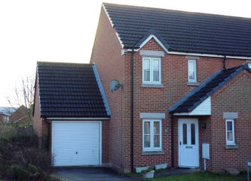Thumbnail 2 bed semi-detached house for sale in Manrico Drive, Lincoln