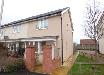 2 bed terraced house to rent in Younghayes Road, Cranbrook, Exeter, Devon EX5