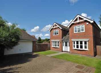 Thumbnail 4 bedroom detached house for sale in Blackley Close, Macclesfield