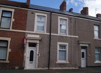 Thumbnail 3 bedroom terraced house to rent in Barnard Street, Blyth
