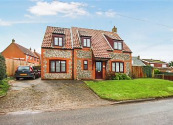 Thumbnail 4 bed detached house for sale in Fakenham Road, Great Ryburgh, Fakenham