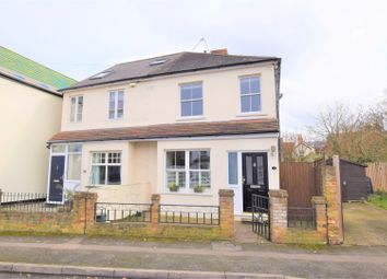 Thumbnail 3 bed semi-detached house for sale in The Crescent, Weybridge