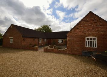 Thumbnail 4 bed barn conversion for sale in Stowe Road, Langtoft, Peterborough