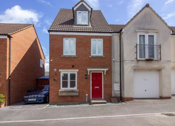 Thumbnail 3 bed town house for sale in Slipps Close, Frome
