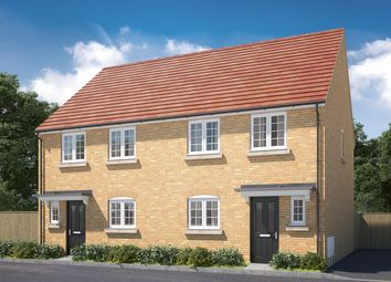 "Thumbnail 3 bed semi-detached house for sale in ""The Eveleigh"" at Mepal Road, Sutton, Ely"