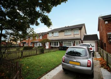 Thumbnail 3 bed semi-detached house for sale in Hadleigh Crescent, Middlesbrough, Cleveland