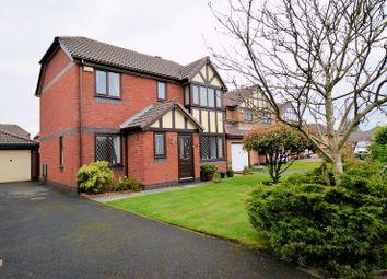 Thumbnail 4 bed detached house for sale in Rothbury Close, Bury BL8. 4 Beds, En Suite, Cul De Sac Location