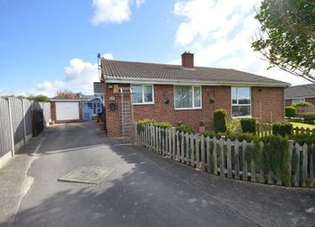 Thumbnail 2 bed semi-detached bungalow for sale in Highfields, Havercroft, Wakefield